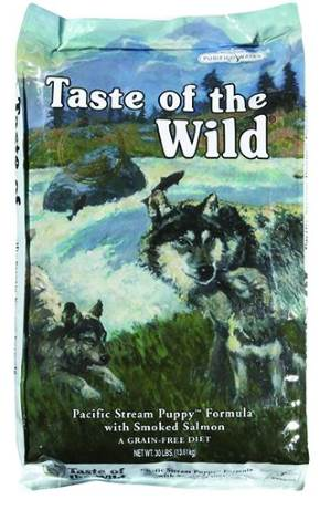 best dog food for lab puppies picture of Taste of the Wild Grain-Free Pacific Stream Dry Dog Food for Puppies