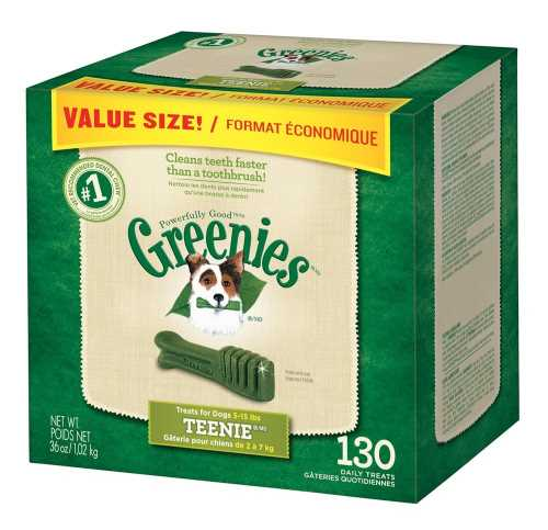 best dog treats picture of box of greenies dental dog treats teenies