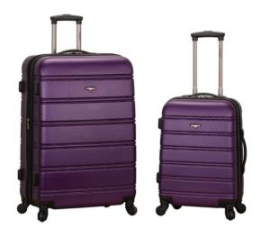 travel accessories picture of rockland expandable spinner set luggage