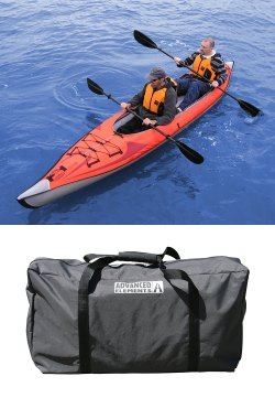 image of best inflatable kayak with case