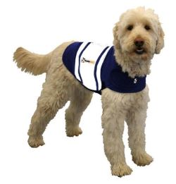 image of thunder jacket rugby style anxiety for dogs