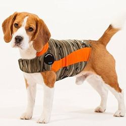 image of dog anxiety vest thunder jacket for dogs